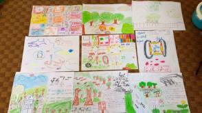 Some artwork done by students of our 2014 program