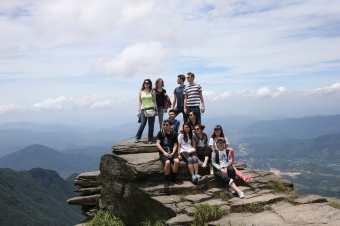 Teachers and staff visit Wugong Mountain, 2015